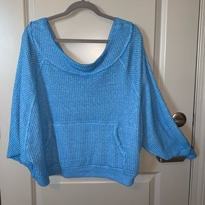free people over sized sweater